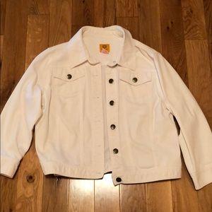 Vintage White Jean Jacket